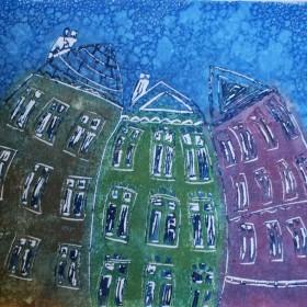 LO174 Wobbly Buildings I