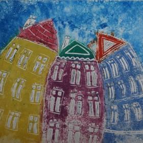LO175 Wobbly Buildings II