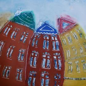 LO203 Wobbly Buildings VI