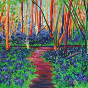 RA309 Bluebell Wood