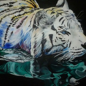 SC044 White Tiger