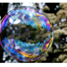 SC147 Rainbow Bubbles I