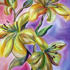 RA032 Lilies