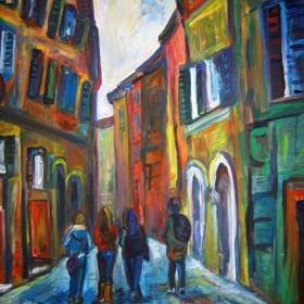 RA037 Street in Siena