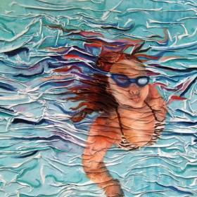 RA216 Girl Underwater