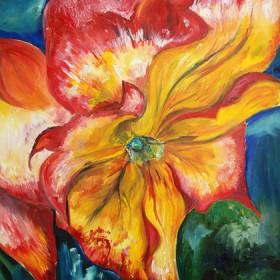 RA238 Tropical Flower
