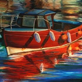 RA251 Little Fishing Boat