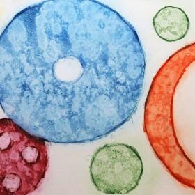 LO264 Abstract Circles I