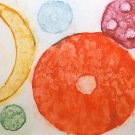 LO265 Abstract Circles II