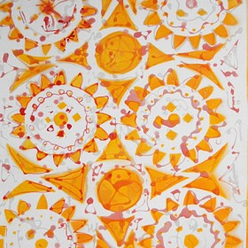 LO299 Circle Design V