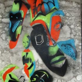 LO361 Tribal Masks III