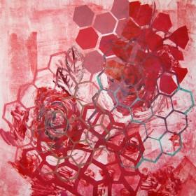 LO388 Honeycomb Print II