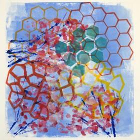 LO390 Honeycomb Print IV