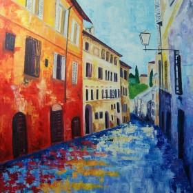 RA347 Mediterranean Street Scene II