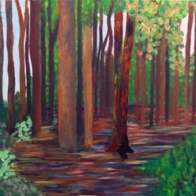 RA381 Woodland Landscape II
