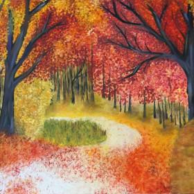 RA383 Woodland Landscape IV