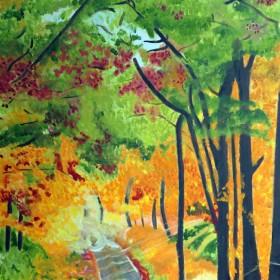 RA389 Woodland Landscape V
