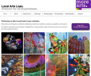 Click for Local Arts Loan section